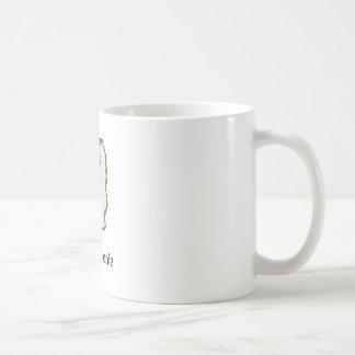 cute cat, I hate people Coffee Mug