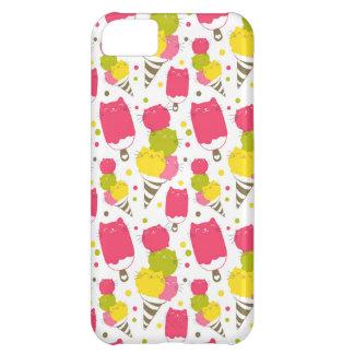 Cute Cat Ice Cream Cover For iPhone 5C