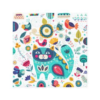 Cute Cat Illustrations Hand Drawn Elements Prints