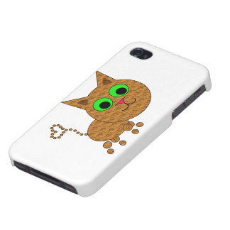 Cute Cat Cover For iPhone 4