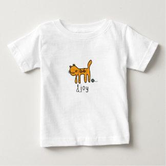 Cute Cat &joy Doodle Baby T-Shirt
