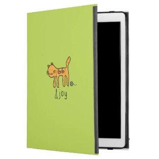 """Cute Cat &joy Doodle iPad Pro 12.9"""" Case"""