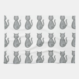 Cute Cat Kitchen Dish Towel