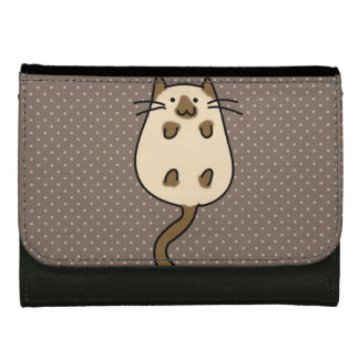 Cute Cat Leather Wallet