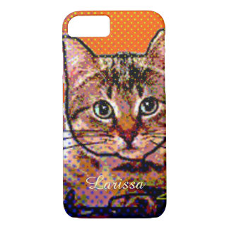 cute cat personalized iPhone 7 case