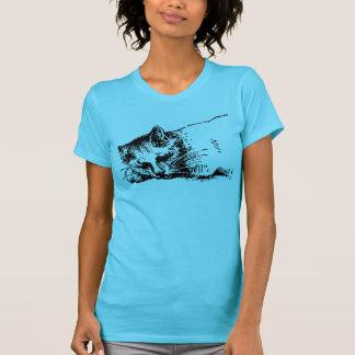 Cute Cat Sleeping T-Shirt