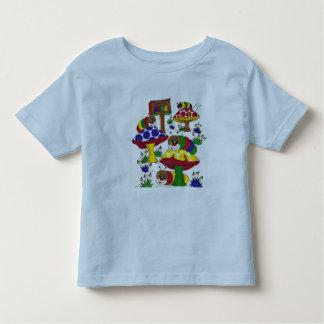 Cute caterpillar shirt for a boy