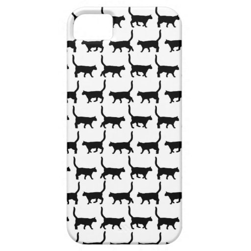 Cute Cats Black Cats iPhone 5 5S Case For iPhone 5/5S