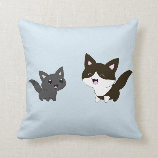 Cute cats cushion