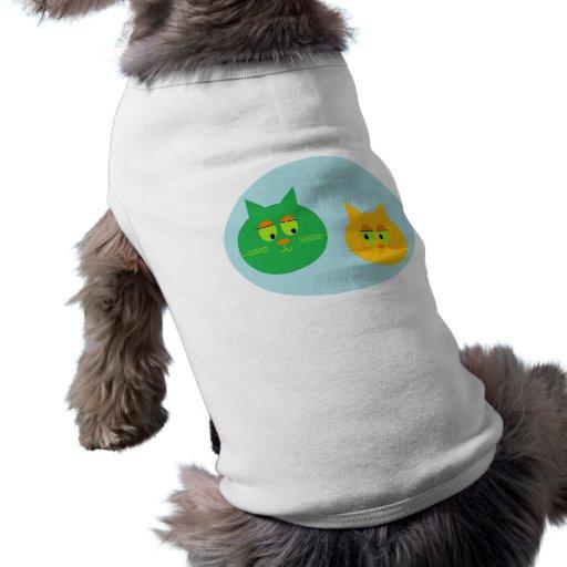 Cute Cats dog shirt