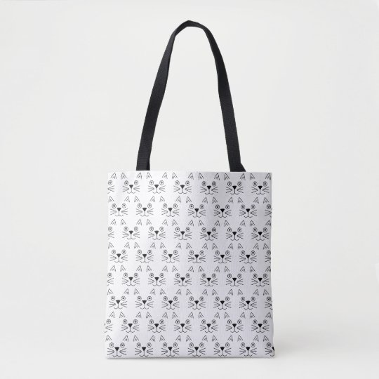 Cute Cats Pattern Totes Bag