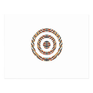 CUTE CHAKRA  Multiple Circle Pattern  LOWPRICE STR Postcard