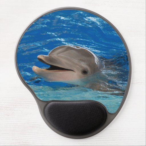 Cute Chattering Dolphin Gel Mouse Mat