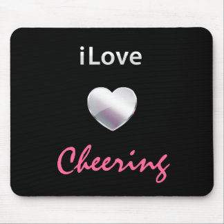 Cute Cheering Mouse Pad