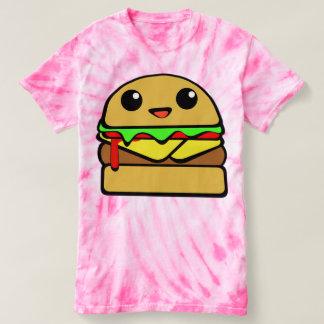 Cute Cheeseburger Character T-Shirt