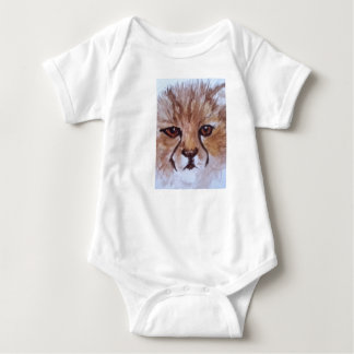 Cute cheetah baby bodysuit