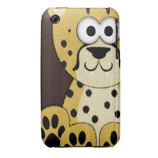 Cute Cheetah iPhone 3 Case-Mate Cases