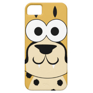 Cute Cheetah Face iPhone 5 Covers