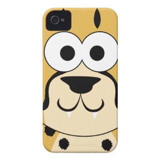 Cute Cheetah Face Case-Mate iPhone 4 Cases
