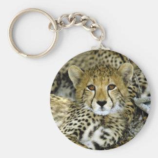 Cute Cheetah Key Ring