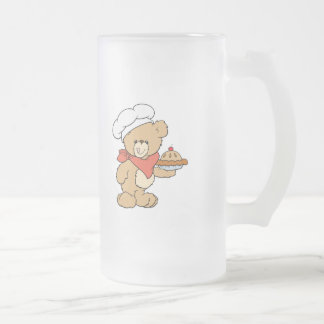 Cute Chef Baker Bear Coffee Mug