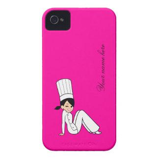 Cute Chef Blackberry Case