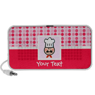Cute Chef Travelling Speaker