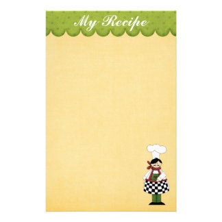 Cute Chef Stationery