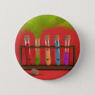 Cute Chemistry 6 Cm Round Badge