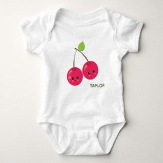 Cute Cherries Baby Bodysuit