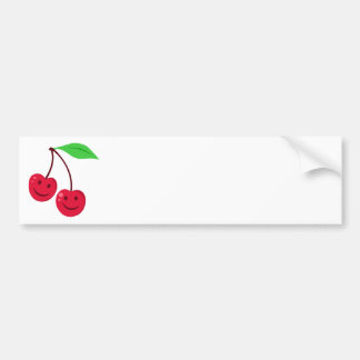 Cute Cherries Bumper Sticker