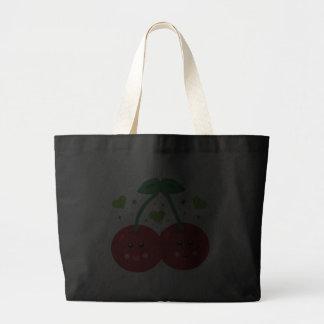 Cute Cherries Canvas Bags