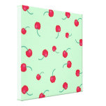 Cute Cherries Gallery Wrapped Canvas