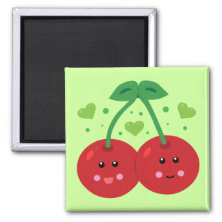 Cute Cherries Magnet
