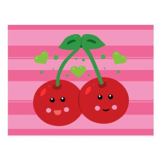 Cute Cherries Postcards