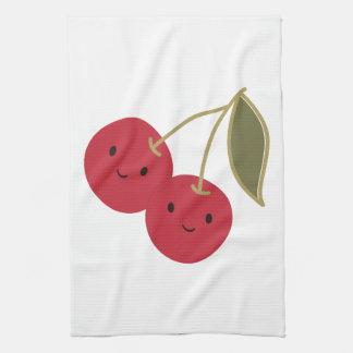 Cute Cherries Tea Towel