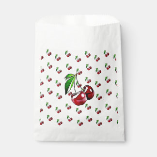 Cute Cherry Party Candy Favor Bags