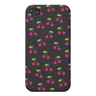 Cute cherry pattern fruit case iPhone 4 case