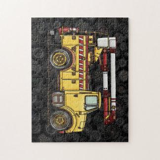 Cute Cherry Picker Truck Jigsaw Puzzles