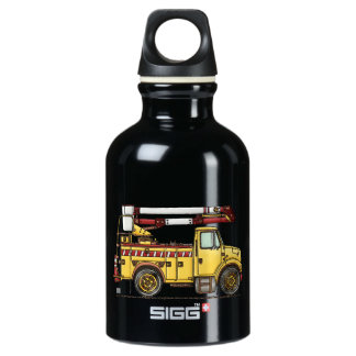 Cute Cherry Picker Truck SIGG Traveller 0.3L Water Bottle
