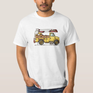 Cute Cherry Picker Truck T-Shirt