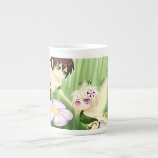 Cute Chibi Fairy Boy and girl Bone China Mug