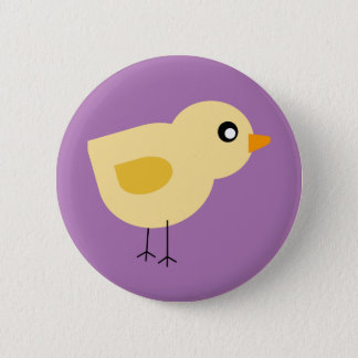 Cute Chick 6 Cm Round Badge