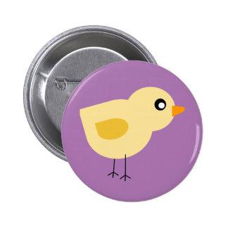 Cute Chick 6 Cm Round Badge