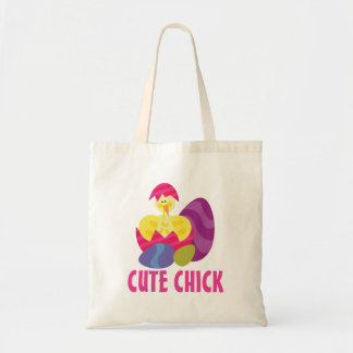 Cute Chick Tote Bags