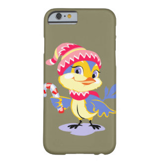 Cute Chick Christmas Barely There iPhone 6 Case