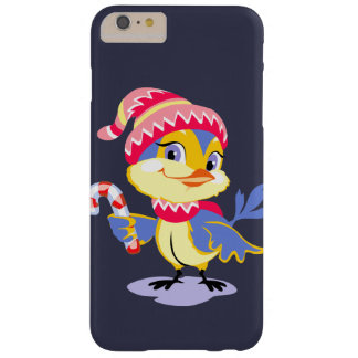 Cute Chick Christmas Barely There iPhone 6 Plus Case