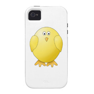 Cute Chick. Little Yellow Bird. Case-Mate iPhone 4 Case