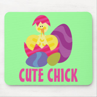 Cute Chick Mouse Mat