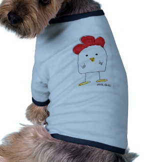 Cute Chicken Dolby Doodle Dog Tshirt